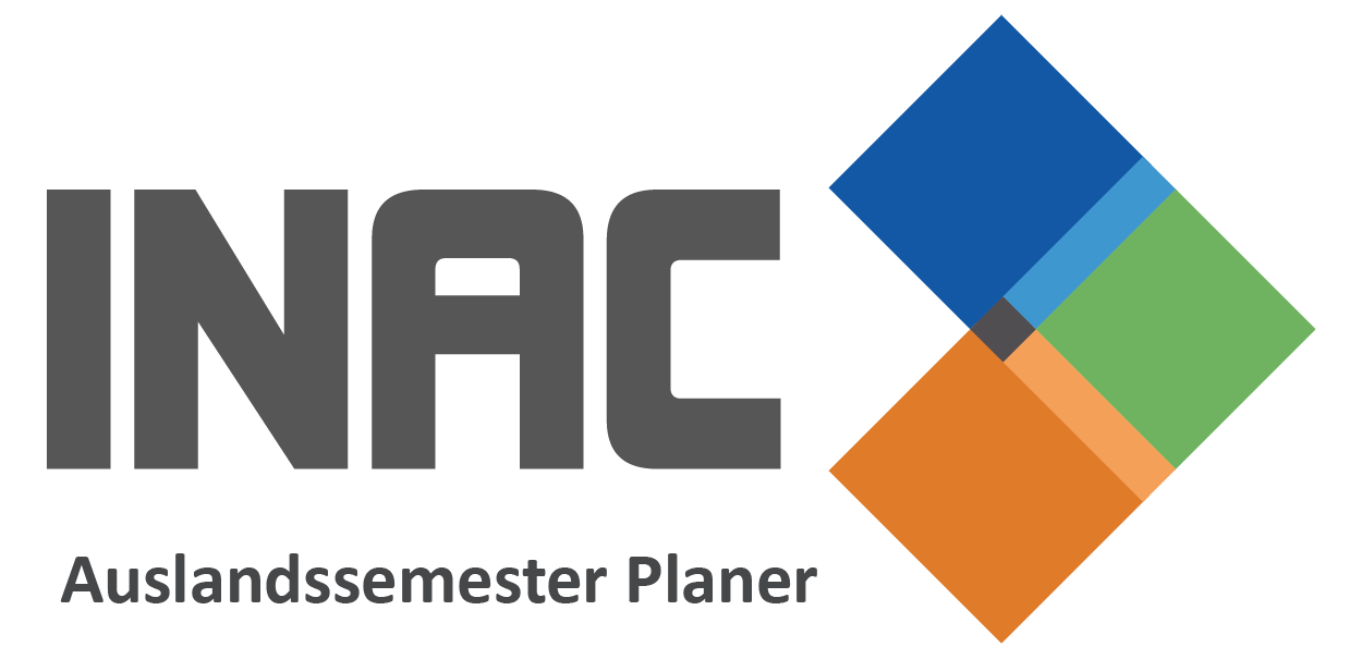 INAC Auslandssemester Planer Australien Neuseeland USA Kanada Singapur