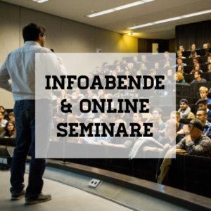 Infoabende & Online Seminare